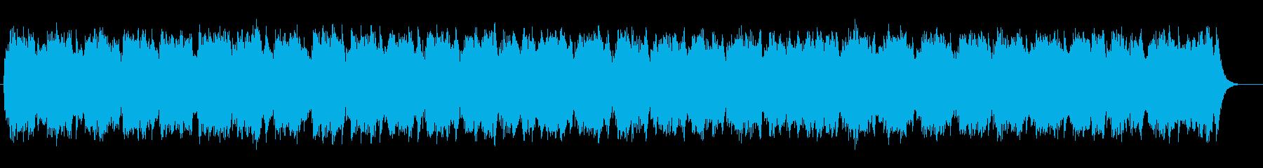シンセサイザー彩る安らぎのミュージックの再生済みの波形