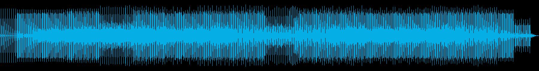 海辺でずっと聴けるハウスミュージックの再生済みの波形