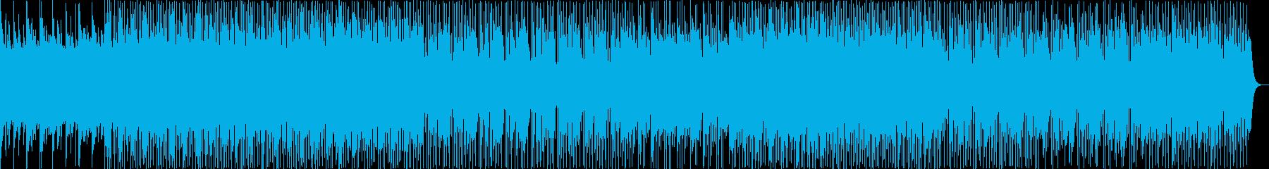 不思議、実験レトロシンセサイザーの再生済みの波形