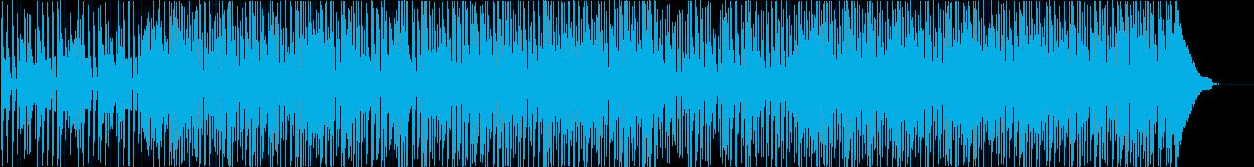 ほのぼの元気なBGMの再生済みの波形