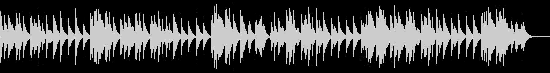 カエルの合唱 カード式オルゴールの未再生の波形