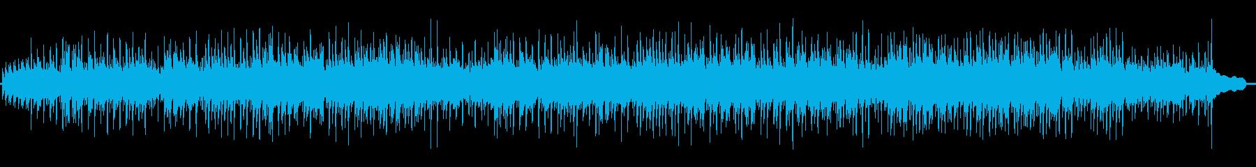 ほんのりカントリー調の明るい楽曲。の再生済みの波形