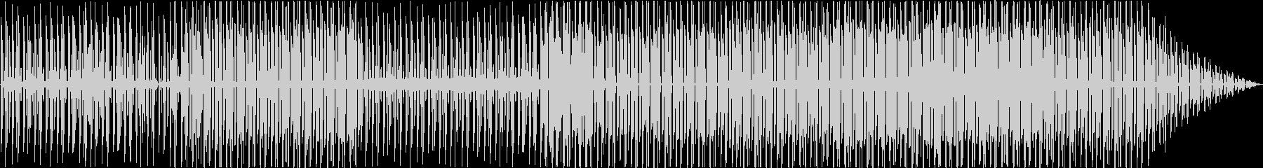 完全にインストゥルメンタルの未再生の波形