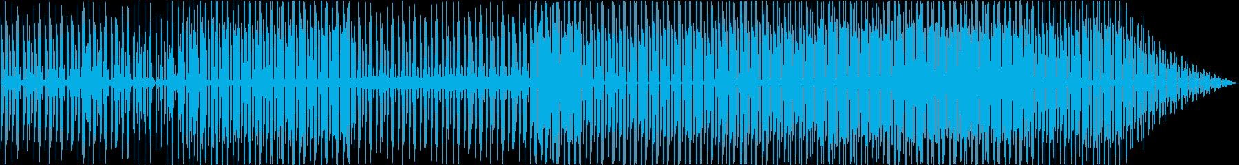 完全にインストゥルメンタルの再生済みの波形