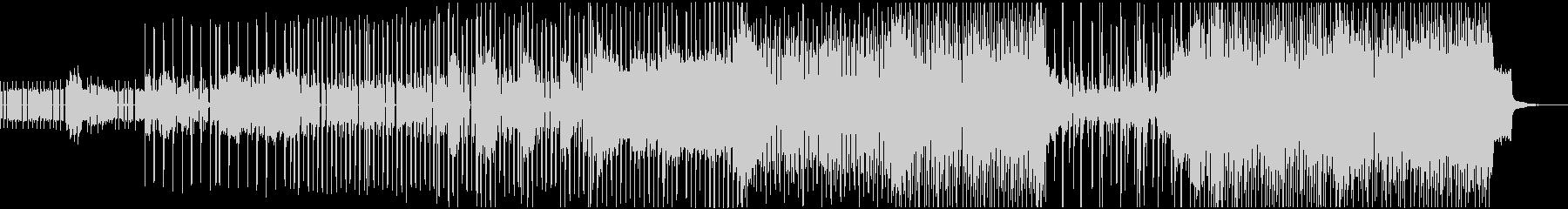 サンプリングされたボーカルサウンド...の未再生の波形