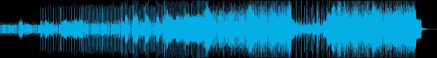 サンプリングされたボーカルサウンド...の再生済みの波形