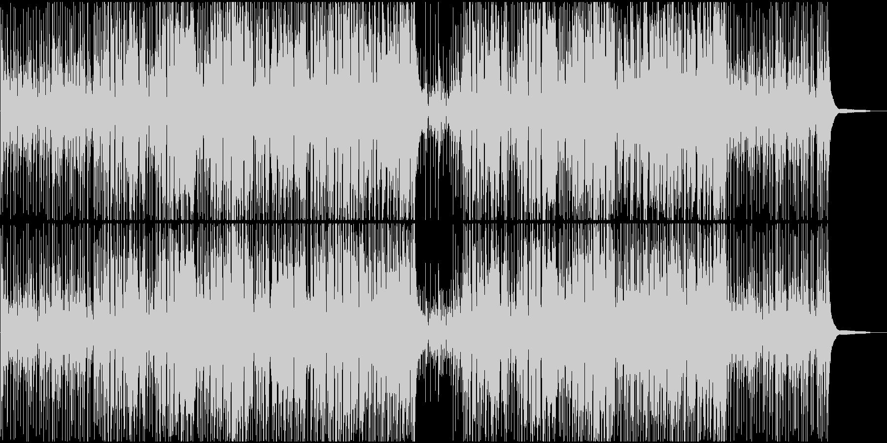 ジャズBGM 映像系に合うジャズファンクの未再生の波形