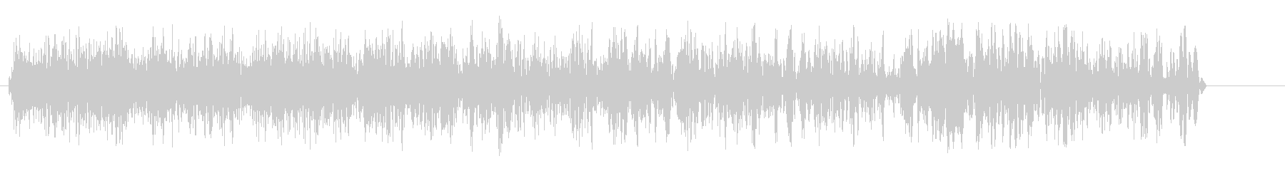 ギューン(チャージ音)の未再生の波形