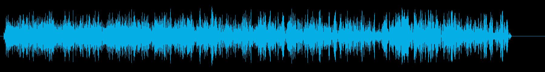 ギューン(チャージ音)の再生済みの波形