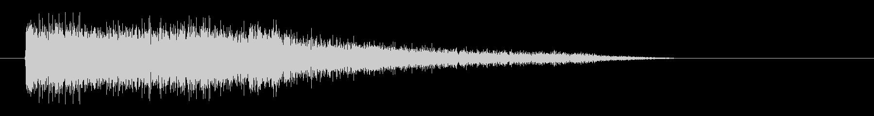 レーザー音-82-3の未再生の波形