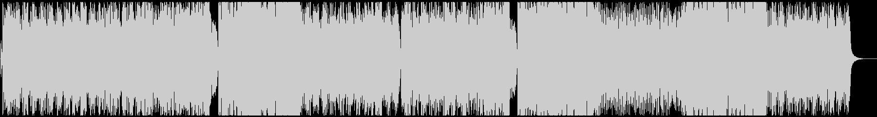 女性ボーカル/少し切ないテクノポップの未再生の波形