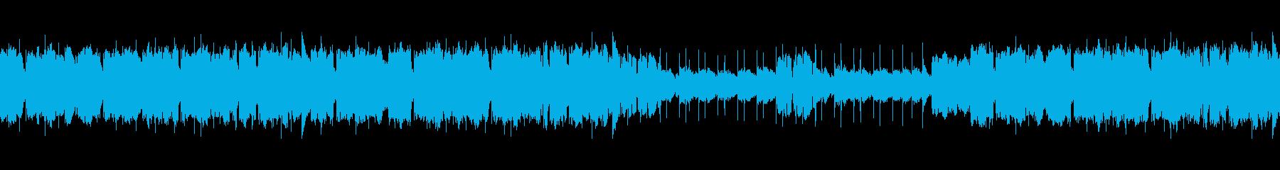 アイリッシュ風のインスト2(ループ)の再生済みの波形