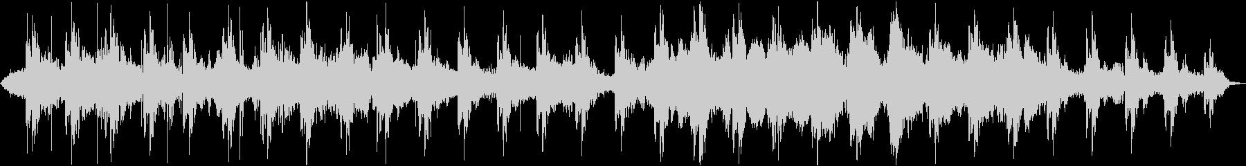 温かい音色のループとサウンドエフェクトの未再生の波形