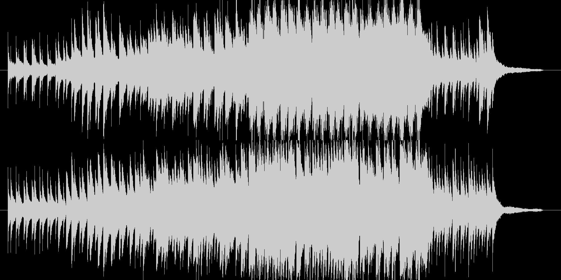 【映像作品用】シンプルなピアノと弦の曲 の未再生の波形