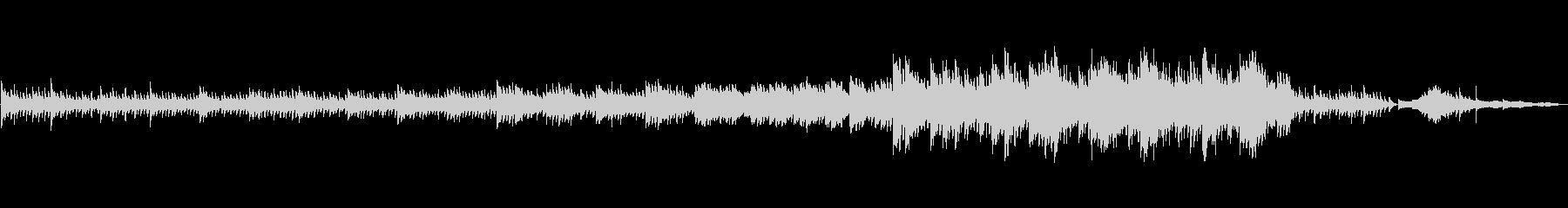 ピアノソロ/風の抜ける街/宮地嶽神社の未再生の波形