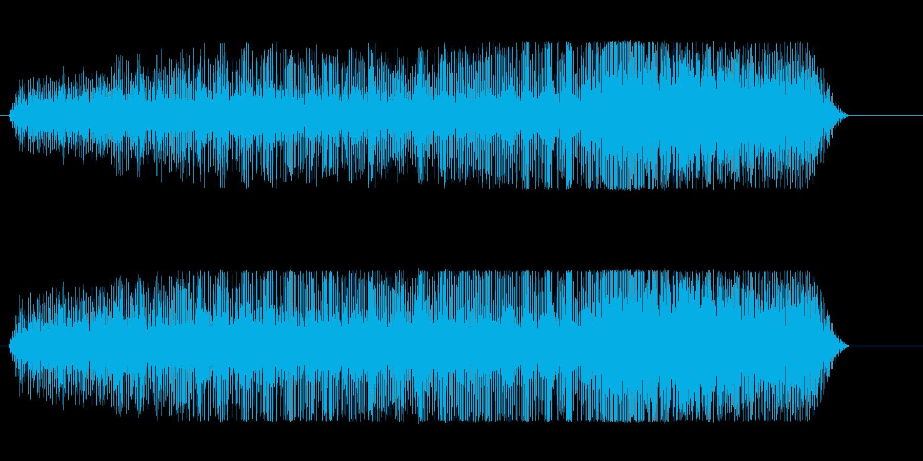 ドラッグスター;アイドル、車のアイ...の再生済みの波形