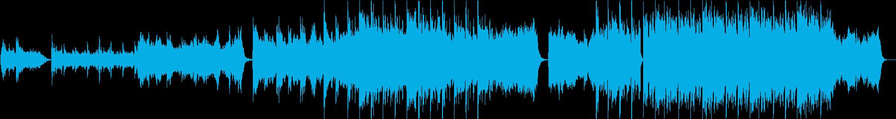 PV】感動系壮大オーケストラエレクトロの再生済みの波形