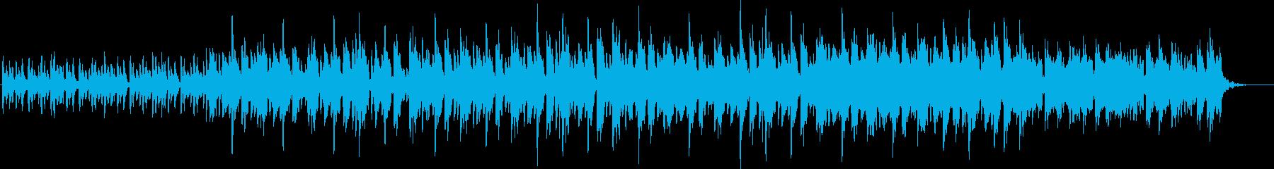 「チープな楽しさ」の再生済みの波形
