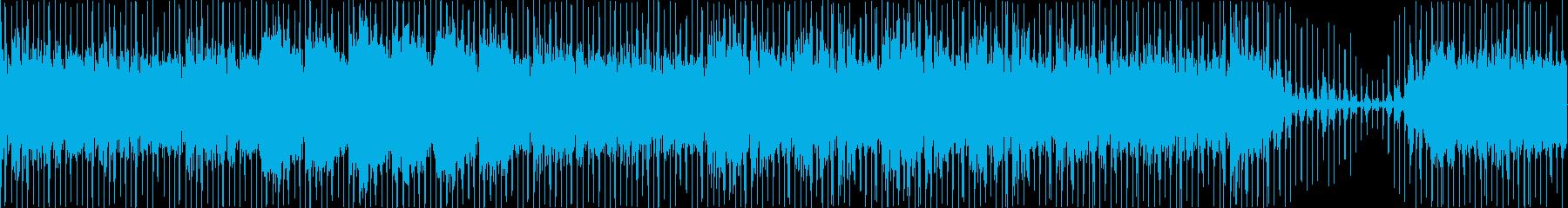 シンセサイザー夜のハイウェイクルージングの再生済みの波形