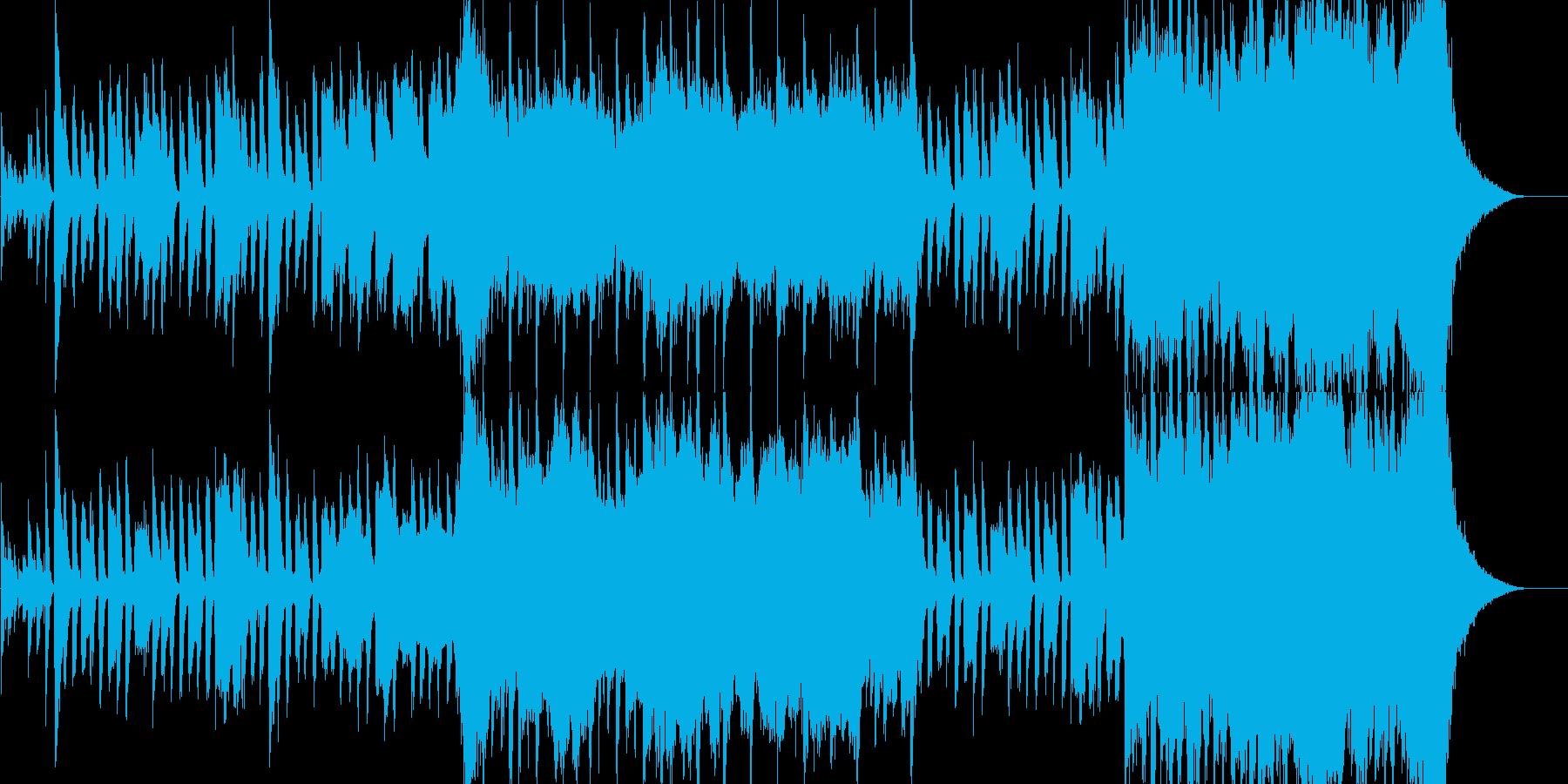 ほのぼのとした雰囲気の室内楽編成の再生済みの波形