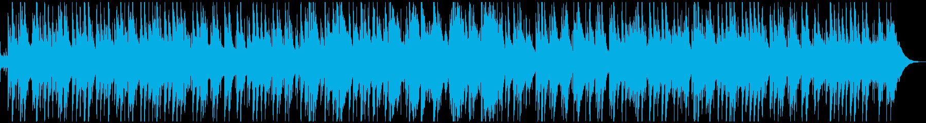 クリスマス曲・まきびとひつじを・ジャズの再生済みの波形