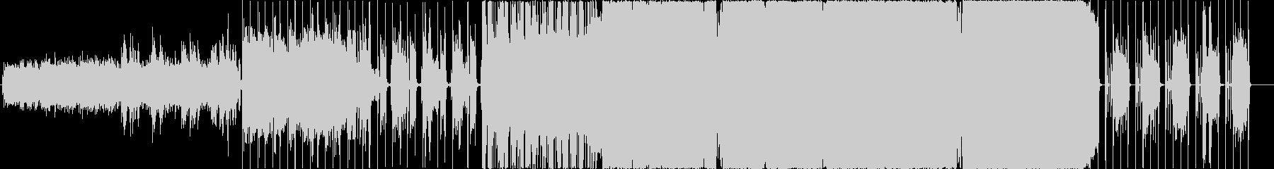 二月の未再生の波形