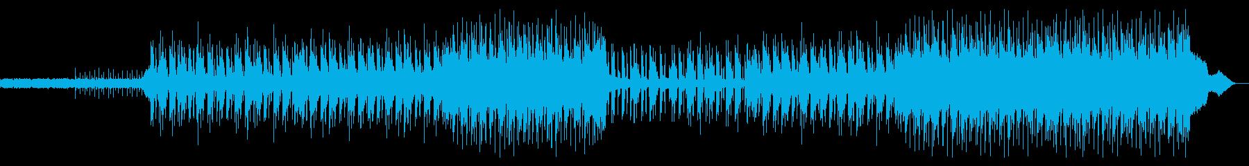 HIPHOPトラック/怪しい雰囲気が漂うの再生済みの波形