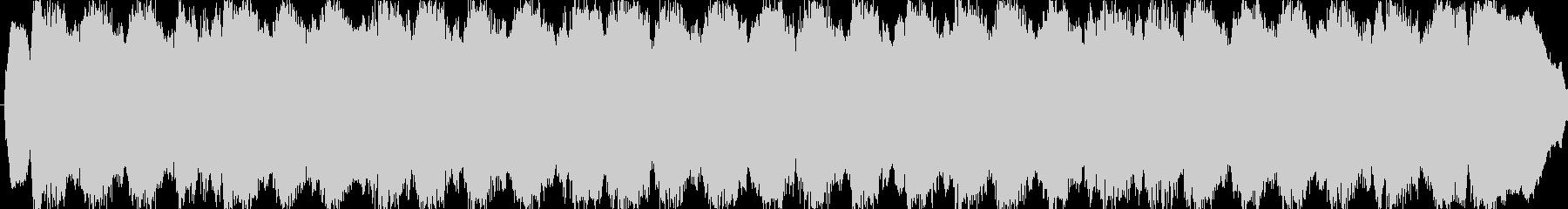 パイプオルガン バッハ風 三声の未再生の波形