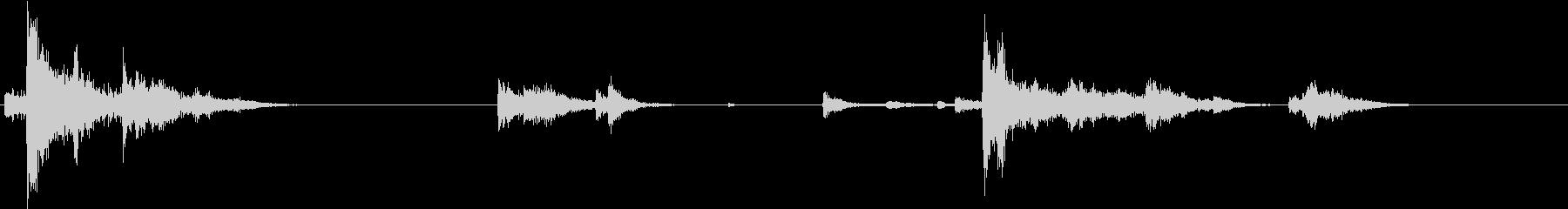 【生録音】装備品の音 金属 武器 12の未再生の波形