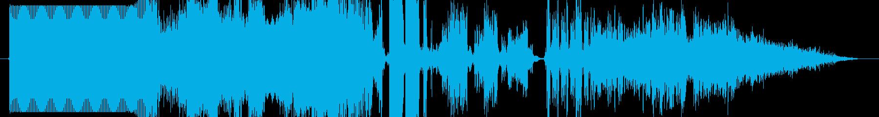 FM jingle production kit GO! !'s reproduced waveform