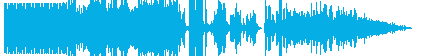 FMジングル制作キット GO!!の再生済みの波形