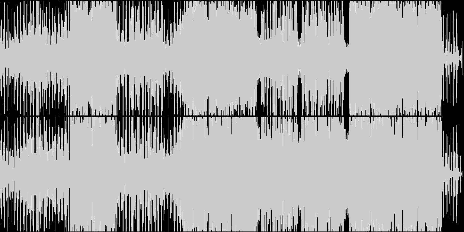 現代的レトロミュージックの未再生の波形