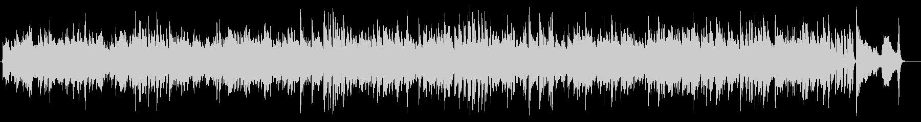 オーソドックスな4ビートの C ブルースの未再生の波形