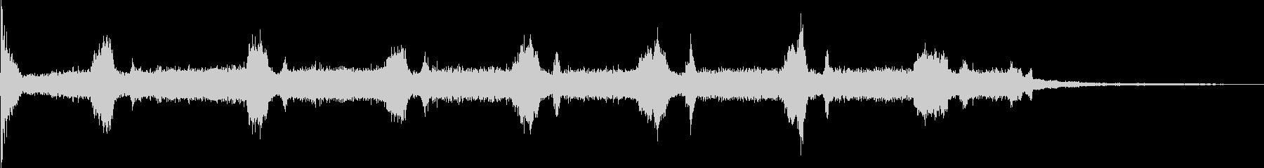 電動マイターソー:いくつかのカット...の未再生の波形