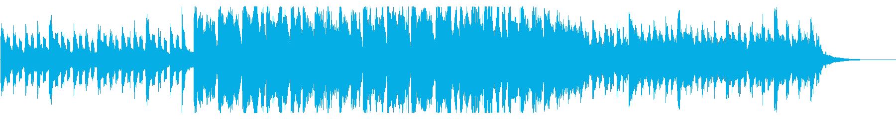 聖夜 クリスマス ミディアムテンポBGMの再生済みの波形