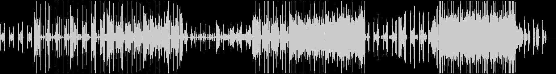 エレキピアノが主役のシックなBGMの未再生の波形
