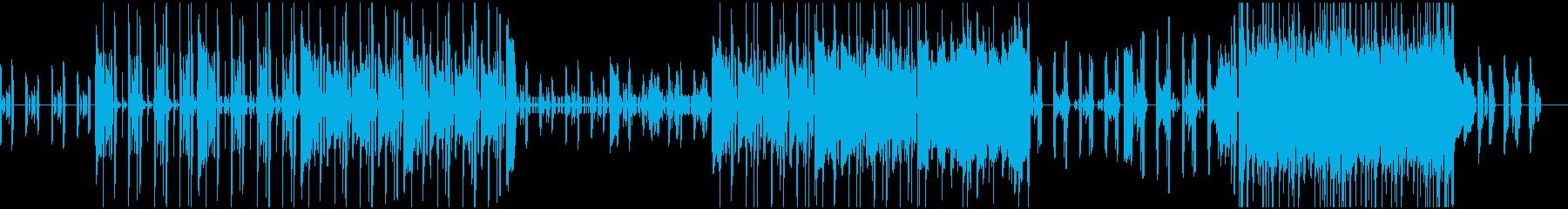 エレキピアノが主役のシックなBGMの再生済みの波形