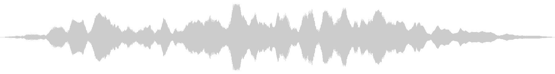 素材 大気フィードバックパッドMi...の未再生の波形