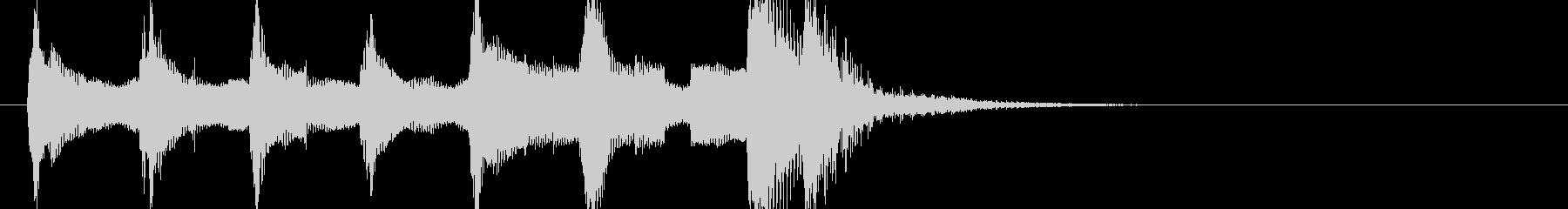 トイ・オルガンとピチカートのジングル1の未再生の波形