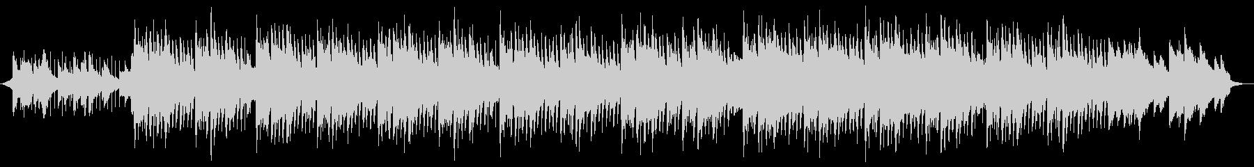 印象的なピアノメロディの企業PVの未再生の波形
