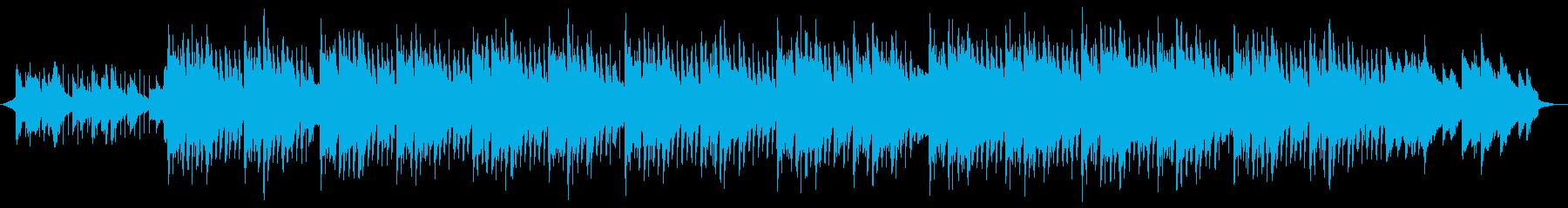 印象的なピアノメロディの企業PVの再生済みの波形