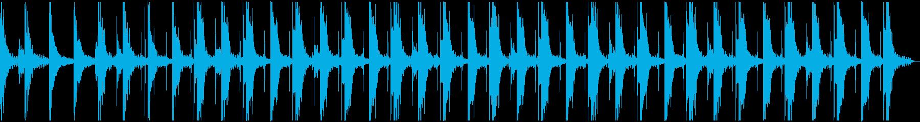 神秘的 ピアノ アンビエントの再生済みの波形