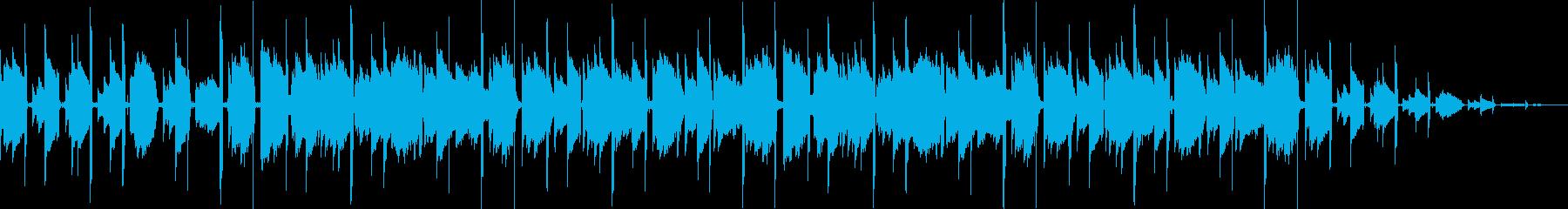 まったり 落ち着く スローアコギサウンドの再生済みの波形