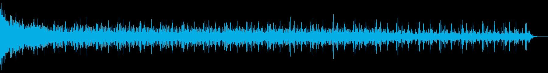 ニュースベッド1の再生済みの波形