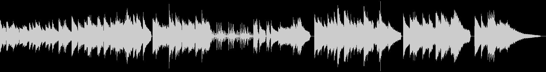 エレピでベートーベン ピアノソナタ悲愴 の未再生の波形