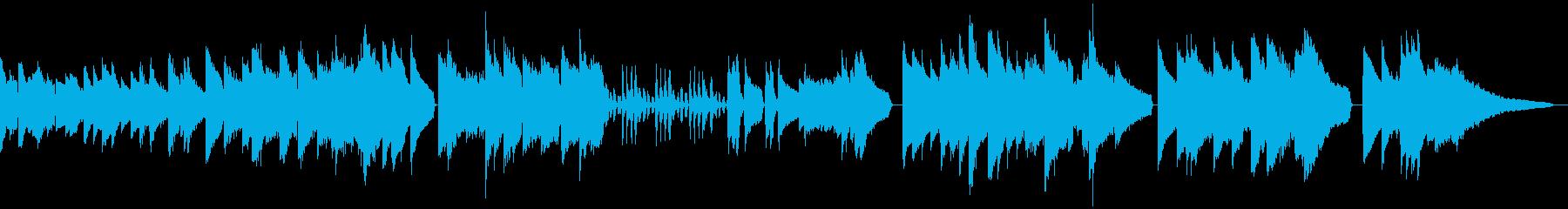 エレピでベートーベン ピアノソナタ悲愴 の再生済みの波形