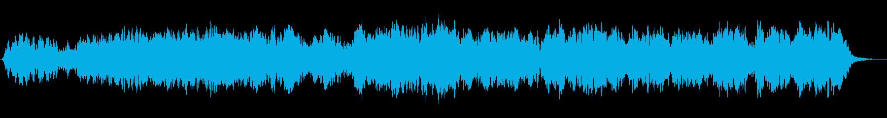 心から癒される曲を作ってみました。の再生済みの波形
