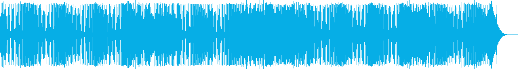 楽しく愉快なインストルメンタルロックの再生済みの波形