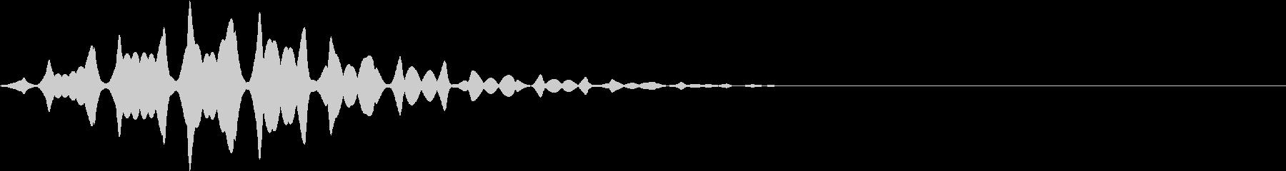 FX 幽霊の効果音 揺れる SE 1の未再生の波形