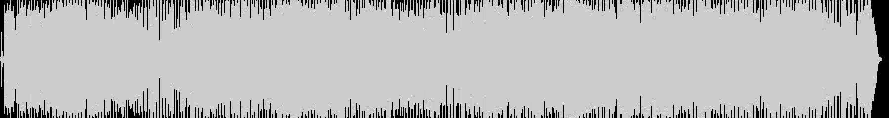 ロックンロールプリズナーの未再生の波形